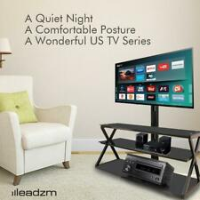 3-in-1 Floor TV Stand with Swivel Mount for 32 - 65 inch LED LCD Flat Screen TVs