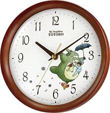 Clock My Neighbor Totoro Rhythym Wall Clock 8MGA27RH06 F/S w/Tracking# Japan New