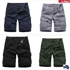 Mens Summer Lightweight Cargo Work Shorts For Men