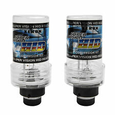 D2S 8000K HID XENON PAIR / Two REPLACEMENT BULB Lamp iceberg blue Light New  DS2