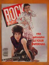 Rock & Folk N° 241 du 5/1987-Rita Mitsouko le retour infernal-Poster des Beatles