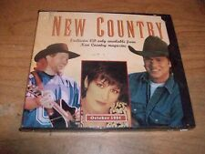 (2) New Country: Exclusive Music CDs From New Country Magazine 1994 1995 NEW
