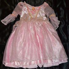 Sleeping Beauty Aurora Halloween Costume Fits Kids Size 4-6 Girls Dress Princess