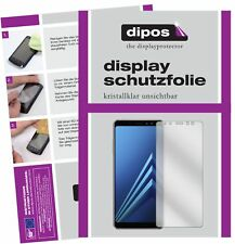 6x Samsung Galaxy A8 (2018) Protector de Pantalla protectores transparente dipos