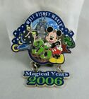 Disney Pin - 35 Magical Milestones 2006 - 35th Anniversary of Walt Disney World