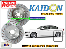 """BMW 3 series F30 disc rotor KAIDON (Rear) type """"RS"""" / """"BS"""" spec"""