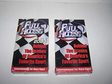 collectible NASCAR 2000 VHS tapes Behind the Scenes NEW Sealed Full Access
