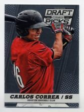 2013 Panini Prizm Draft Picks CARLOS CORREA Rookie Card RC #11 Houston Astros DP