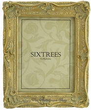 Shabby Chic Vintage Very Ornate Antique Gold Photo Frame for 8x6 Inch Picture
