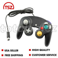 For Nintendo Game Cube Black Controller Joy Stick Pad Remote Video System