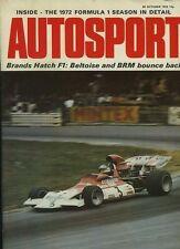 Autosport October 26th 1972 *Lotus Elan +2S Road Test*