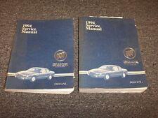 1994 Buick Regal Shop Service Repair Manual Set Custom Limited Gran Sport 3.8L