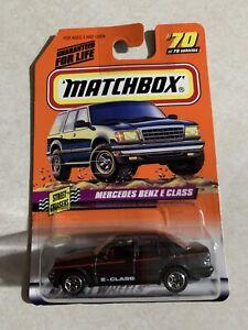 Matchbox - #70 of 75 - Mercedes Benz E Class - Street Cruisers - Dark Gray