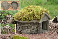 Hedgehog House Stone Garden Ornament Fairy House Fairy Garden Wildlife House