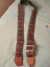 Vintage 1960's Ace Woven Hippy Strap, Very Cool!
