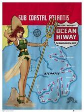 Dc Bombshells Print - Mera Ant Lucia art Justice League Aquaman