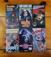 Godzilla & King Kong Horror VHS Lot