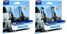 4x Philips 9005+9006 Upgrade Crystal Vision Ultra Xenon Bright White Light Bulb
