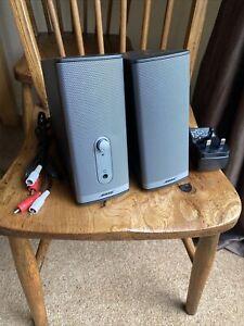 Bose Companion 2 Series II Multimedia Speaker System Power Adaptor & AV Cable