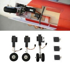 Two Wheeled Shocking Proof Front & Rear Retract Landing Gear Set For RC Airplane