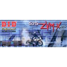 Cadena DID 525 Zvm-X Extra Reforzado Oro 116 Extremidades Abierto Con