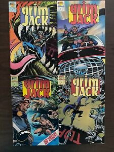 Grim Jack 48-51 High Grade First Comics Lot Set Run CL77-138