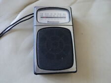 RARE PANASONIC RF-504 AM/FM  BAND CLASSIC VINTAGE POCKET RADIO WORKING