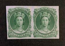 Nova Scotia Stamp #11 Proof Pair MNG