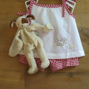 Remember Nguyen Embroidered Puppy Set Bunnies By Bay Puppy Size 6 Months Reborn