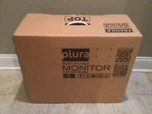 "Plura LCM-119-3G 19"" Multi-Format HD Broadcast Monitor, New-Open Box O Hrs"