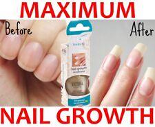 MAXIMUM NAIL GROWTH POLISH Booster Accelerator Calcium Gel Victoria beatuty 12ml