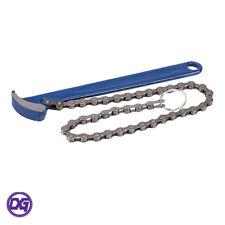 Llave de cadena de eliminación de filtro de aceite combustible, 150mm longitud de la cadena