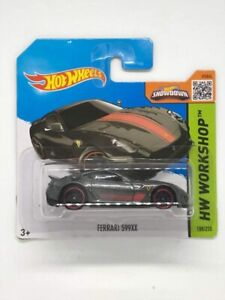Hot Wheels Ferrari 599xx Short Card