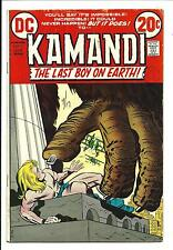 Kamandi, THE LAST BOY ON EARTH #7 ( Kirby Art, Julio 1973 ), FN