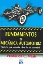Fundamentos De Mecanica Automotriz (Spanish Edition)-ExLibrary