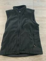 Patagonia Women's Full Zip Fleece Vest Color Black Size Small  Synchilla Camp