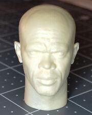 1/6 Custom Samuel Jackson Resin Cast Head Sculpt Hot Sideshow Toys