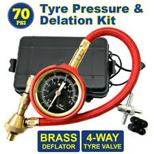 4X4 4WD Rapid Tyre/Tire Deflator Air Deflators with Pressure Gauge Valve Tool