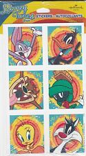 Hallmark Looney Tunes Stickers - Tweety, Marvin, Bugs Bunny, Daffy, Sylvester