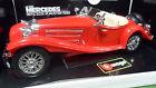MERCEDES-BENZ 500K ROADSTER 1936 no 1/18 1/20 BURAGO 3020 voiture miniature