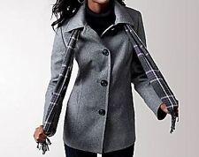 Liz Claiborne Black Plus size Scarf Coat Size 3X(22W/24W)