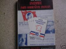livre anatomie du parti communiste francais