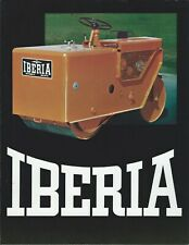 Equipment Brochure Iberia Roll Rite Rollers Road Construction E5905