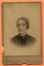Grand Ledge, MI, Portrait of a Woman, by Marvin, circa 1890