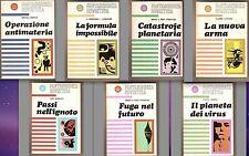 Strugatskij Dneprov FANTASCIENZA-SOVIETICA sette numeri SERIE COMPLETA 1966-67