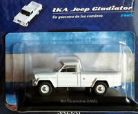 IKA JEEP GLADIATOR (1985)  Unforgettable Cars 1:43 Diecast # 67 SALVAT ARGENTINA