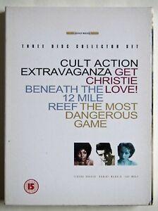 CULT ACTION EXTRAVAGANZA / 3 DVD SET / GET CHRISTIE LOVE 1974 BLAXPLOITATION + 2