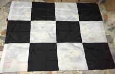 1 bandierone GIGANTE JUVE  CAMPIONI scacchi bianconero 270x210 cucito bandiera