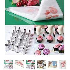 100 pz pasticceria decorazione Borsa Per fare Torte Torta Strumento da pasticcere usa e getta Glassa N
