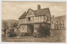 Shropshire postcard - Stokesay Castle Gate House East